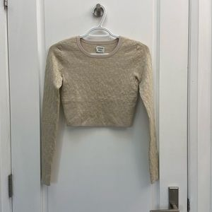 Sunday's Best cropped sweater size xs